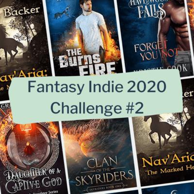 Indie Reading Challenge 2020: Book series