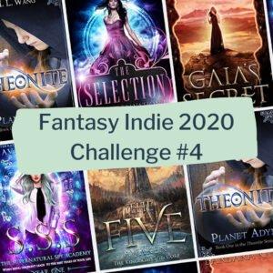 Fantasy indie 2020 reading challenge: debut novels