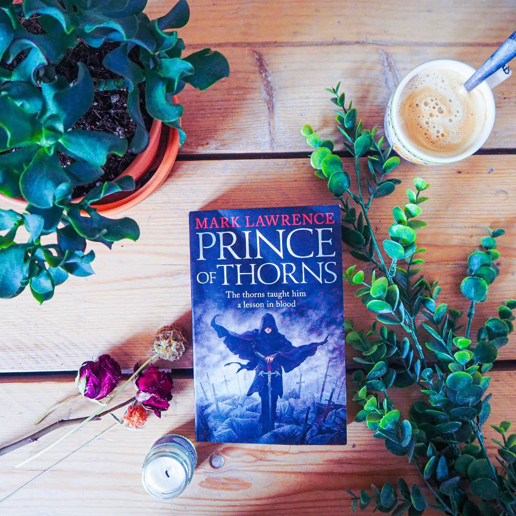 Book review for Prince of Thorns, Broken empire trilogy book one