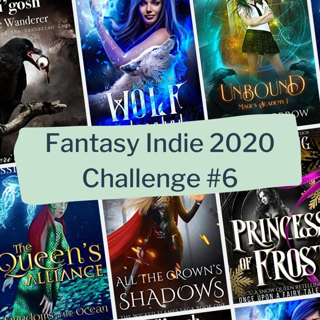 Little-known books challenge 6 of fantasy indie reading challenge 2020