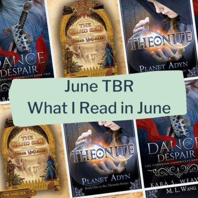 June TBR: What I read in June