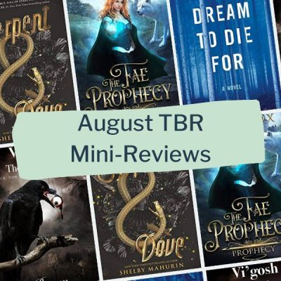 August TBR: What I read in August