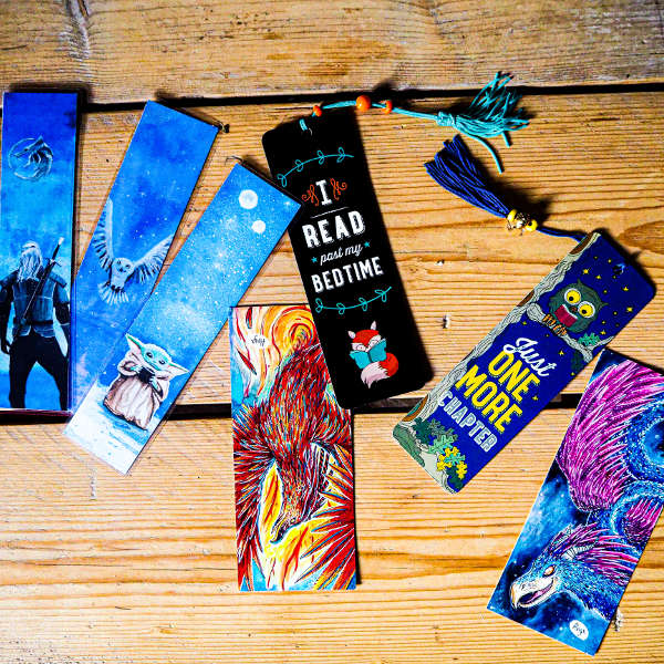 bookmarks handcrafted