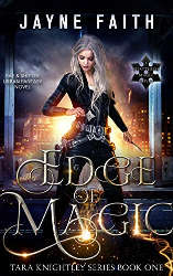 october reading challenge edge of magic book cover