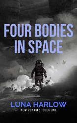 LGBTQ indie books four bodies in space book cover