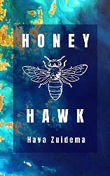 LGBTQ fantasy and sci-fi indie reading challenge honey hawk book cover