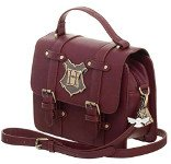 amazon gift guide bookish harry potter faux letter satchel with hogwarts emblem