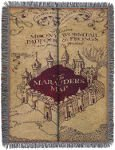 throwblanket harry potter marauders map holiday gift guide for readers who love fantasy