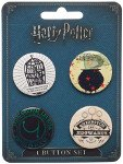 holiday gift guide for readers who love fantasy harry potter buttons
