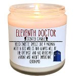 holiday gift guide candle doctor who