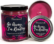 holiday gift guide for readers who love fantasy candle pink