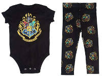 holiday gift guide for readers who love fantasy baby body and legging harry potter theme