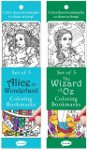amazon holiday gift guide color your own bookmarks alice in wonderland theme