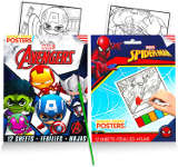 holiday gift guide paint your own marvel posters kit
