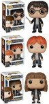 holiday gift guide for readers who love fantasy harry potter funko set with harry, ron and hermione
