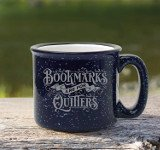 holiday gift guide for readers mug bookmarks are quitters quote