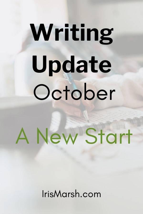 october writing update