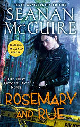 ya urban fantasy books rosemary and rue