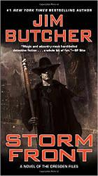 urban fantasy books storm front