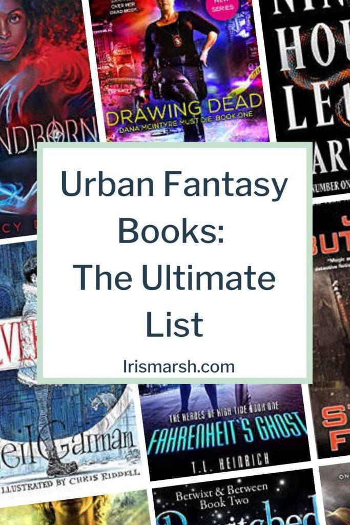 urban fantasy books