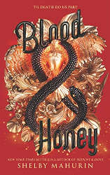 october reading wrap-up blood and honey book cover