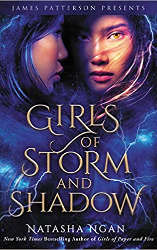 girls of storm and shadow book cover new releases december 2020