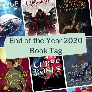 end of the year 2020 book tag