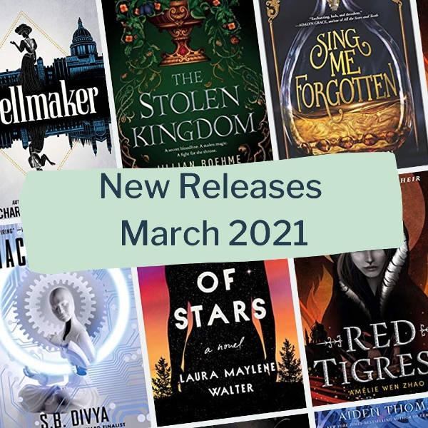 new book releases march 2021