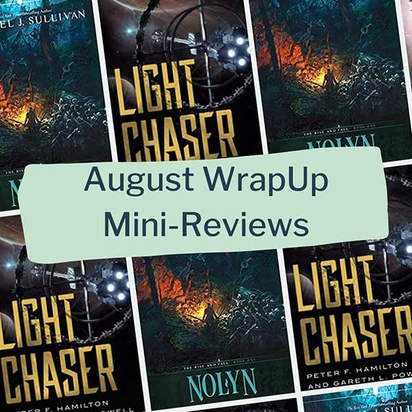 august mini book reviews