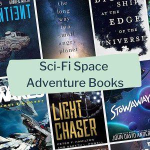 sci-fi space adventure books