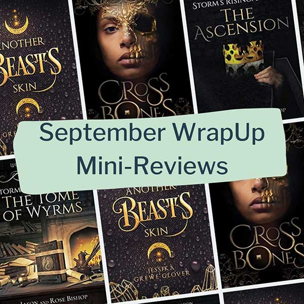 september 2021 wrapup mini book reviews