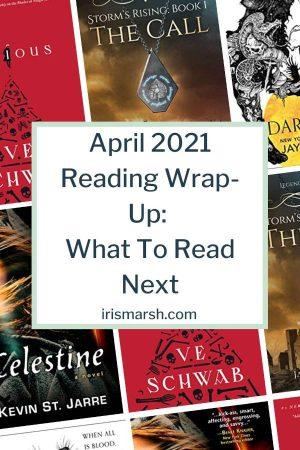 april 2021 reading wrapup mini book reviews