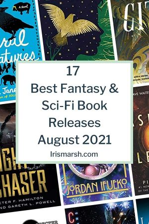 best fantasy sci-fi book releases august 2021