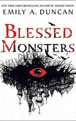 blessed monsters april 2021 fantasy book releases