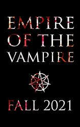 the empire of the vampire book cover new release fantasy books