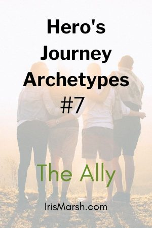 hero's journey archetypes the ally