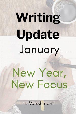 writing update january new year, new focus