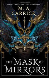 mask of mirrors book cover best fantasy and scifi book releases january 2021