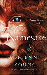 namesake book cover new fantasy releases