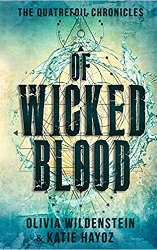 fantasy book releases of wicked blood book cover