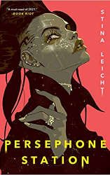 best scifi book releases january persephone station book cover