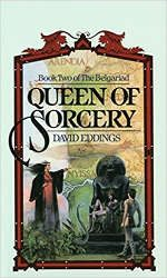 mini review queen of sorcery book cover