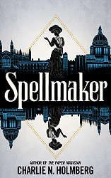 fantasy book releases march 2021 spellmaker bookcover