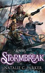 best sci-fi and fantasy book releases february 2021 stormbreak book cover
