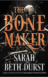 fantasy book releases march 2021 the bone maker book cover
