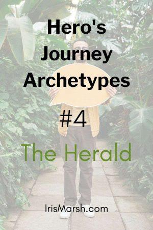 hero's journey archetypes the herald