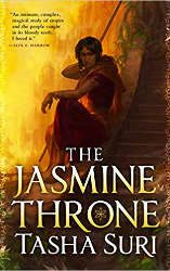 best fantasy books 2021 the jasmine throne book cover