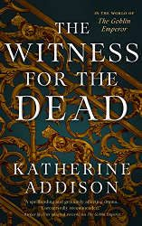 best sci fi books 2021 the witness for the dead book cover