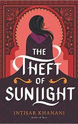 theft of sunlight book cover march 2021