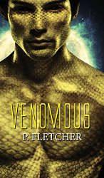 scifi fantasy romance venomous book cover